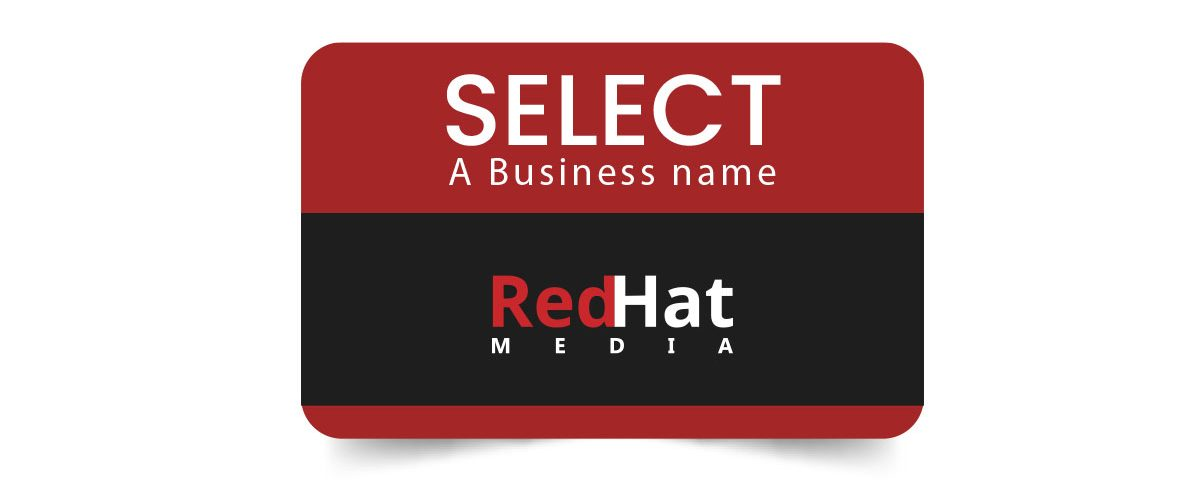 select a business name