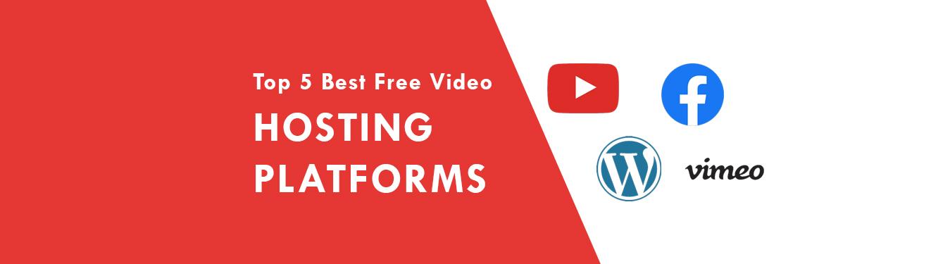 Top 5 Best Free Video Hosting Platforms in 2021 - Video Hosting Websites
