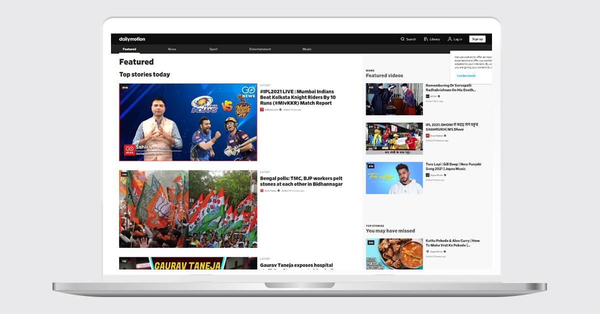 Dailymotion Video Hosting Platform